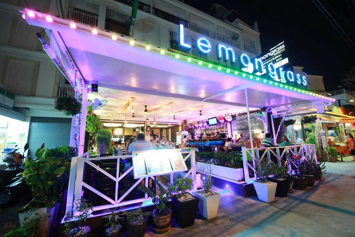 Lemongrass Hotel restaurant